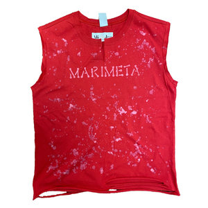 Camp Marimeta Splatter Muscle Top