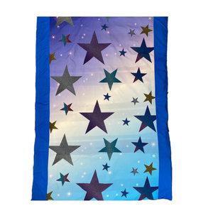 Glitter Stars Reversible Comforter