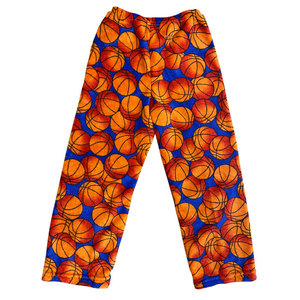 Basketballs Fuzzy Pants