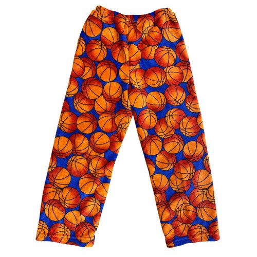 Basketballs Fuzzy Pants