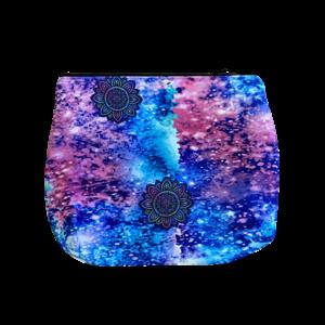 Flower Galaxy Large Neoprene Cosmetic Bag