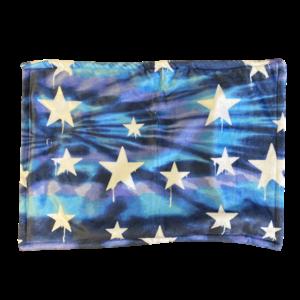 Tie Dye Dripping Stars Fuzzy Sham