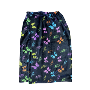 Neon Butterfly Spa Wrap