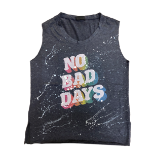 No Bad Days Sleeveless Shirt
