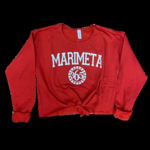 Camp Marimeta 365 Tie Front Sweatshirt