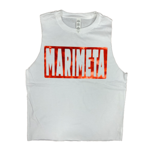 Camp Marimeta Shiny Camp Box Cut Tank