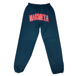 Camp Marimeta Star Shadow Sweatpants with Slashed Knees