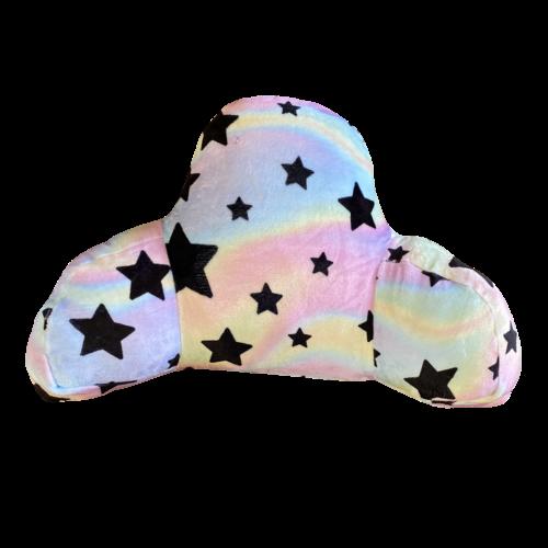 Pastel Tie Dye Star Fuzzy Boyfriend Pillow