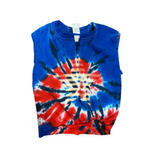 July 4th Tie Dye Star Tank
