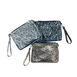 Silver Stars Pouch