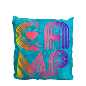 Camp Retro Autograph Pillow