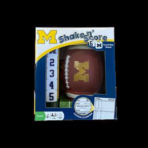 University of Michigan Shake N' Score