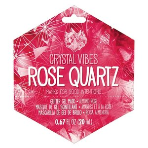 Rose Quartz Crystal Vibes Face Mask