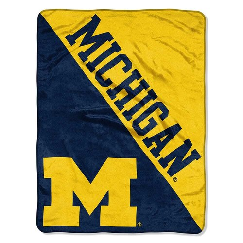 University of Michigan Throw Blanket