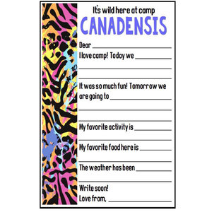 Wild Side Fill-In Notecards