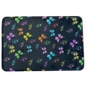 Neon Butterfly Mat