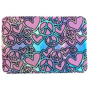 Sketchy Heart Mat