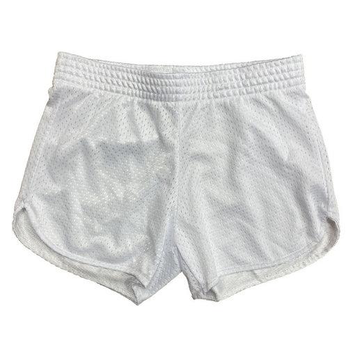 White Mesh Shorts