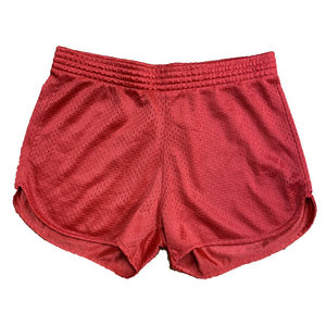 Red Mesh Shorts