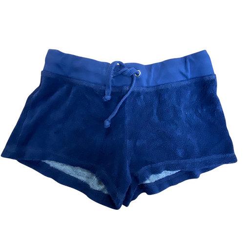 So Nikki Navy Terry Shorts