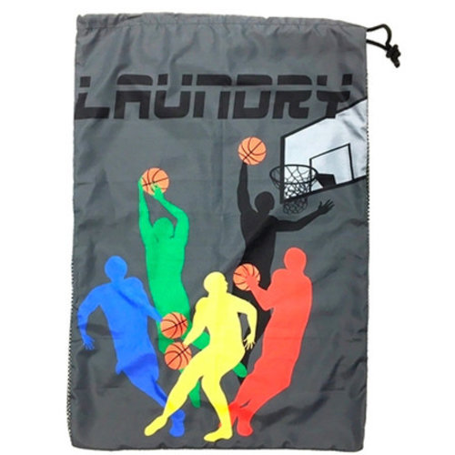 Basketball Team Mesh Laundry Bag
