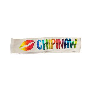 Rainbow Lips Headband