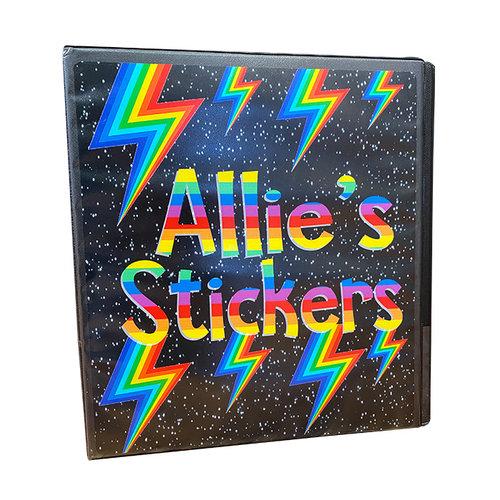 Rainbow Bolts Sticker Book