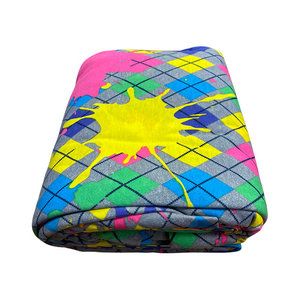 Splatter Argyle Jersey Sheets