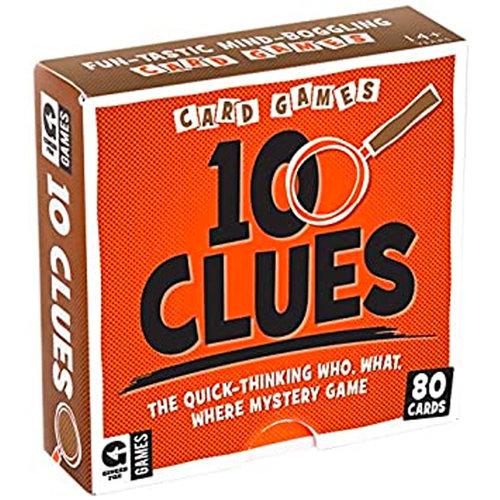 10 Clues Card Game