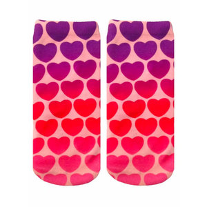Hearts Ankle Sock
