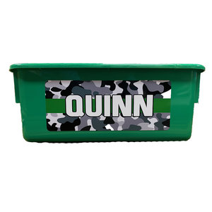 Camo Stripe Storage Tub