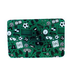 Green Soccer Mat