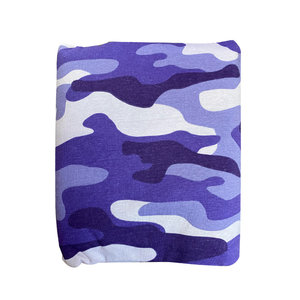 Purple Camo 3-Piece Sheet Set