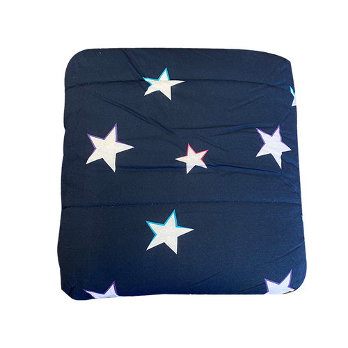 Navy Blue Stars Camp Comforter