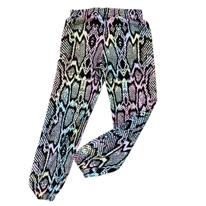 Pastel Snake Skin Thermal Pants