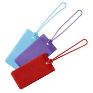 Purple Jelly Luggage Tag