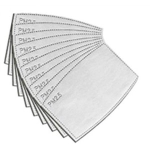 Face Mask Filters (5-pack)
