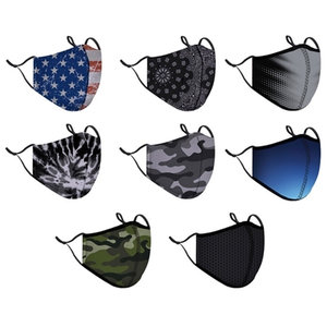 Men's Fashion Mask (w/filter pocket)