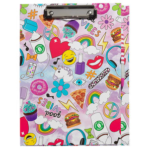 Good Vibes Clipboard and Stationery Set