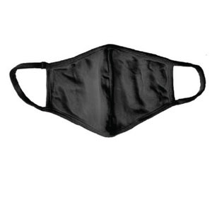 Black Fashion Mask (w/filter pocket)