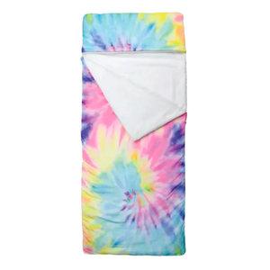 Pastel Tie Dye Sleeping Bag