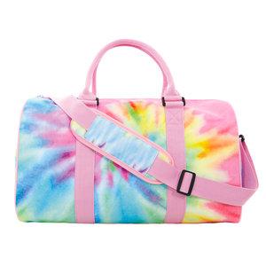 Pastel Tie Dye Duffel Bag