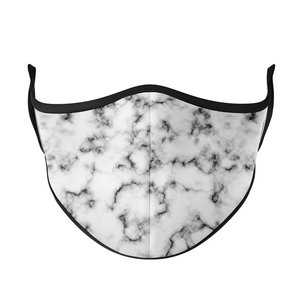 Bleached Marble Women's Mask (w/filter pocket)