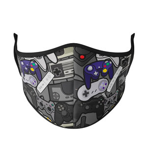 Remotes Mask (Kids/Tween Size; w/filter pocket)