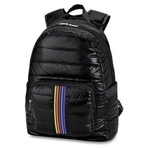 Black Puffer Backpack