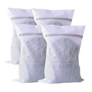 Basic Sock Bag White Set of 4