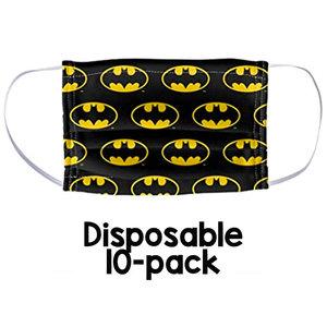 Batman Disposable Face Masks (10 Pack)