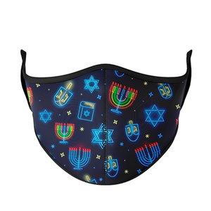 Hanukkah Face Mask