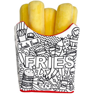 Color Me Fries Pillow