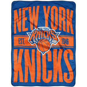 NY Knicks Team Throw Blanket